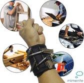 Klus armband - Klus accessoires - Magnetische Armband - Klus gereedschap - Klusarmband - Nr 1 van NL - Verstelbaar - Voor schroeven, spijkers, bitjes - Uniek Cadeau  - Extra sterk - Doe het zelf - Gereedschapsriem - 10 magneten - kado - Polsband