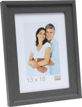 Deknudt Frames Fotokader grijs met opstaand randje, schilderlook fotomaat 30x40 cm