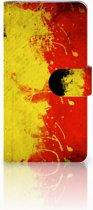 LG V30 Boekhoesje Design Belgische Vlag