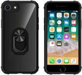 BackCover Ring voor Apple iPhone 8/7/6 Transparant Zwart