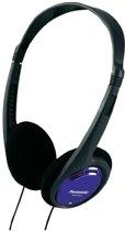 Panasonic RP-HT010E Zwart, Blauw Supraaural Hoofdband koptelefoon