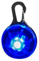 Bee Seen - Dog Hanger - Blauw - Led - honden lampje - veiligheid hond