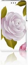 Huawei P30 Uniek Boekhoesje Roses
