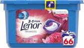 Lenor 3in1 Pods Robijn Jasmijn - Voordeelverpakking 66 Wabeurten - Wasmiddelcapsules