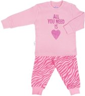 Frogs and Dogs Baby Meisjes Pyjama Zebra Parfait Pink