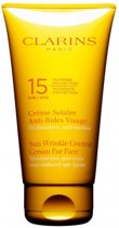 Clarins Sunscreen for face Wrinkle Control Cream Zonnebrandcrème - SPF 15