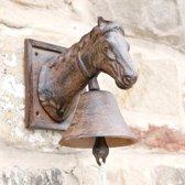 Deurbel paardenhoofd - gietijzer - set van 2 stuks
