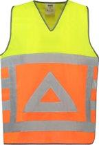 Tricorp tabard verkeersregelaar - fluor oranje / fluor geel - 453011 - maat 5XL