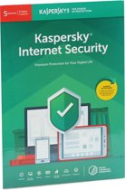 Kaspersky Internet Security | 5 Apparaten | 2 Jaar | Engelse verpakking | Alle Europese talen