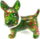Pomme Pidou spaarpot hond Boomer - Uitvoering - Groen met tropisch fruit