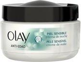 MULTI BUNDEL 2 stuks Anti-Age Night Cream For Sensitive Skin 50ml