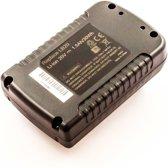 Battery similar B&D ASL188K, Li-ion, 20V, 1500mAh, 30Wh, black