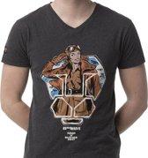 LIGER X Butcher Billy- Aviator-Limited Edition van 360 stuks - T-Shirt - Maat M - v hals