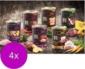 Wellness Core Grain Free 95 400 g - Hondenvoer - 4 x Kalkoen&Boerenkool