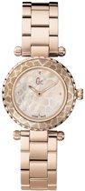 Gc Watches Mini Chic X70043L1S - Horloge - 28 mm - Rosé Goud