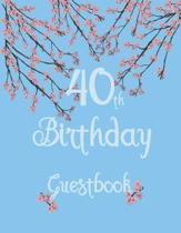 40th Birthday Guestbook