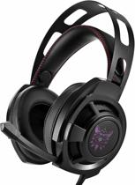 Gaming Headset voor PC + PS4 + Xbox One met Microfoon – Gaming Koptelefoon Over Ear -  LED licht + Noice Cancelling