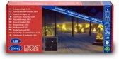 Konstsmide 2733 - Snoerverlichting - 200 lamps micro LED iciclesnoer - 630 cm - 24V - voor buiten - warmwit
