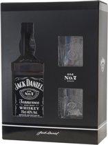 Jack Daniels Kadoverpakking met 2 glazen