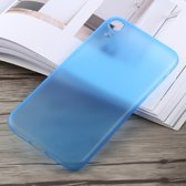0,3 mm Ultradun Frosted PP-hoesje voor iPhone XR (blauw)