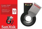 Clé USB SANDISK CRUZER ORBIT SDCZ58 NOIR 32GO