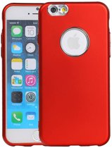 Wicked Narwal | Design backcover hoes voor iPhone 6 / 6s Rood
