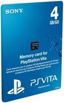 Sony PlayStation Memory Card 4 GB Zwart PS Vita