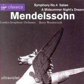Mendelssohn: Symphony no 4, etc / Wordsworth, London SO
