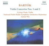 Bartok: Violin Concertos Nos. 1 and 2/Pauk, Polish RSO