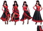 Spaans & Mexicaans Kostuum | Fantastische Fanny Texas Saloon | Vrouw | Maat 44-46 | Carnaval kostuum | Verkleedkleding
