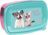 Studio Pets Happy Friends - Lunchbox - 18,5 x 13 cm - Multi