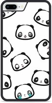 iPhone 8 Plus Hardcase hoesje Panda Emotions