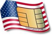 Voice/Data SIM kaart USA 1GB