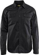 Blåkläder 3298-1190 Overhemd Zwart maat XXXL