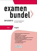 Examenbundel VWO  - Engels 2012/2013