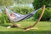 Amazonas Hangmat Apollo Set marine -Eenpersoons hangmat met standaard