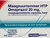 Healthypharm Maagzuurremmer Omeprazol 20mg 14st