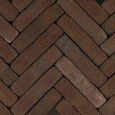 60 stuks! Art brick vermeer vlam 5x20x8.5 cm Gardenlux