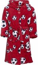 Rode badjas voetbal voor jongens 146/152 (11-12 jr)