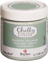 CHALKY FINISH DECOART RAYHER MINT 118ml