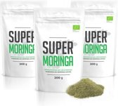 Super Moringa Poeder - Superfood - Voedingssupplement - Trio Verpakking