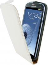 Mobiparts Premium Flip Case Samsung Galaxy S3 White
