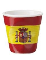 Revol Froisses Espresso Kreukbeker - 0.08 l - Vlag Spanje