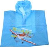 Disney Regenponcho Planes Jongens One Size Blauw