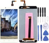 Lcd-scherm en Digitizer Full Assembly voor Xiaomi Mi 4 (wit)