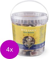 Pets Taste Duo Bones Kip&Rund&Lam - Hondensnacks - 4 x 450 g