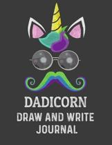 Dadicorn Draw And Write Journal