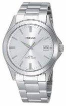 Pulsar PXH093X1 - Horloge - 37.0 mm - Zilverkleurig