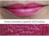 Lippenstift, 135 Fuchsia, Unity Cosmetics