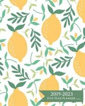 2019-2023 Five Year Planner- Lemons